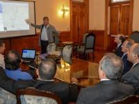 Los avances en obras de la provincia serán volcados en un sistema informático