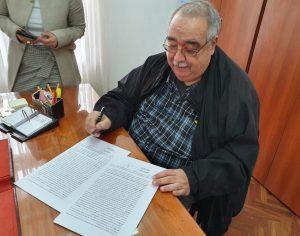 Convenio de colaboración y cooperación institucional con el Ministerio Pupilar y de la Defensa
